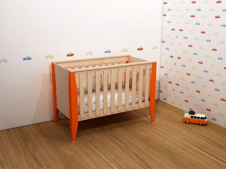 Furniture plans of children's room Leon: Cot Leon