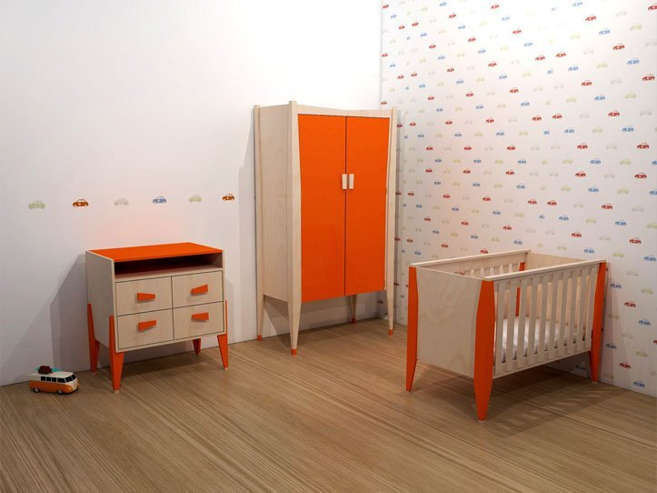 Furniture plans of children's room Leon