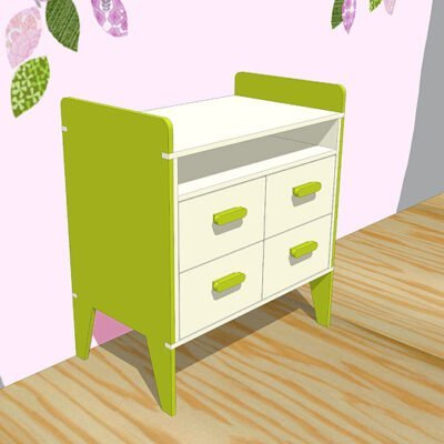 nicole-children's room-commode-make-yourself