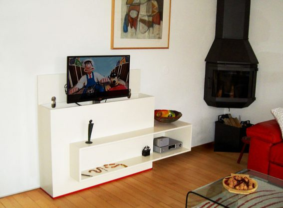 Mooie Grote Tv Kast.Diy Furniture Plan For Design Tv Stand With Lift Astor