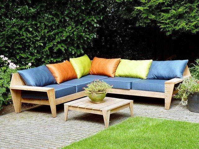 Photo DIY garden corner sofa 'YelmoXL' by