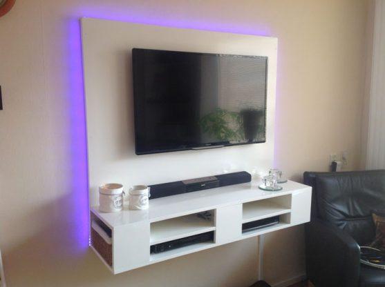 Leuke Moderne Tv Kast.Diy Floating Tv Stand Cabinet Unit Penelope Furniture Plan