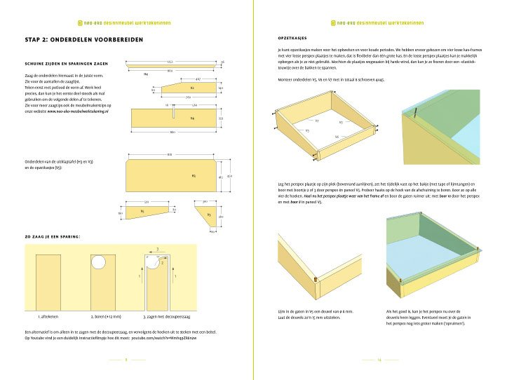 preview-Drawing DIY kitchen garden table Huerta