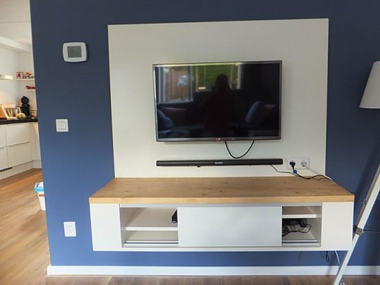Tv Kast Gratis Af Te Halen.Diy Floating Tv Stand Cabinet Unit Penelope Furniture Plan