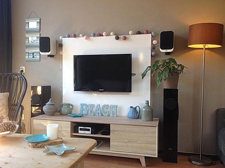 Wonderbaar Floating TV cabinet Penelope built by Juriaan HR-07