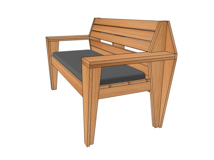 Preview Drawing DIY garden bench 'Turbon'