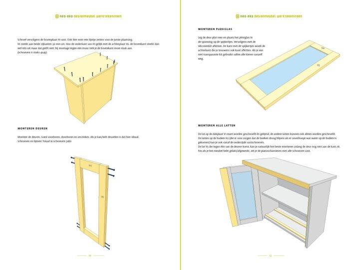 preview van de werktekening van zelfbouw minibieb Libros