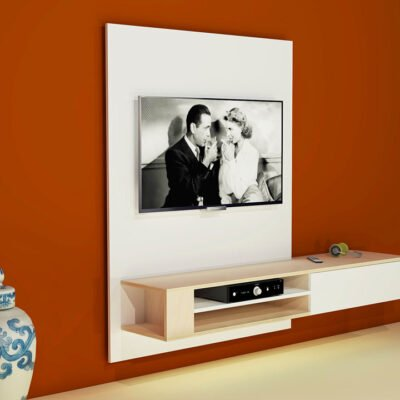 DIY hanging TV cabinet 'Jordi': Drawings, Plans