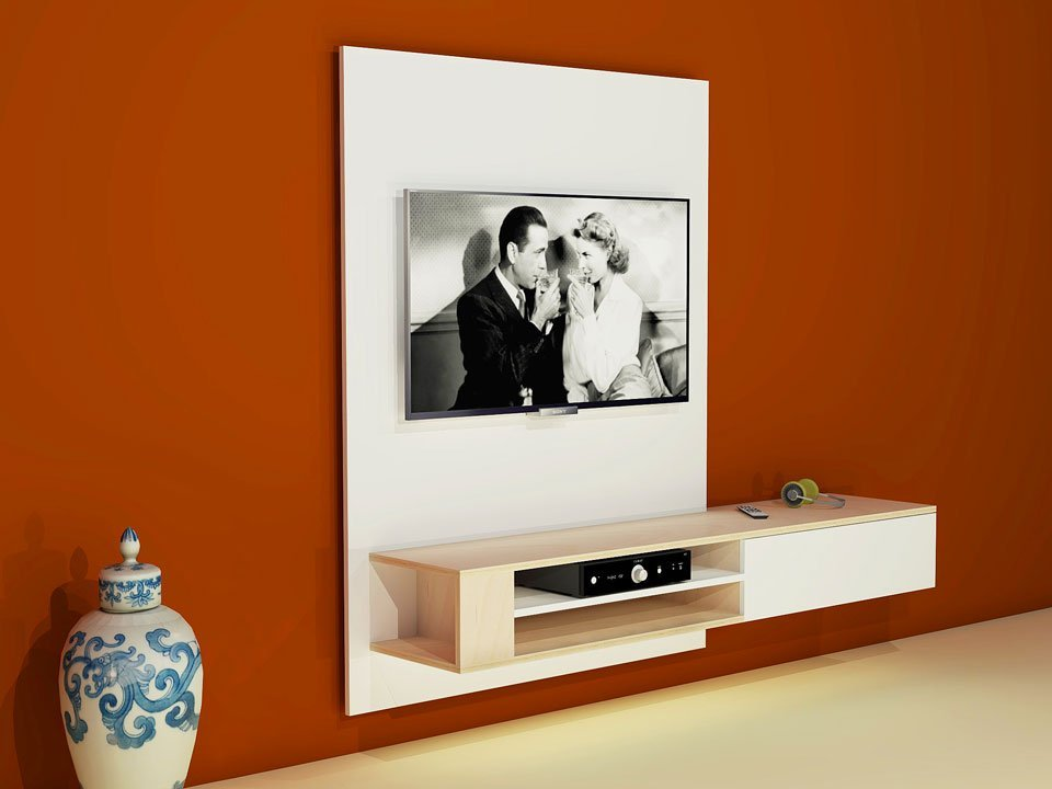 DIY Hanging TV Cabinet U0027Jordiu0027: Drawings, ...
