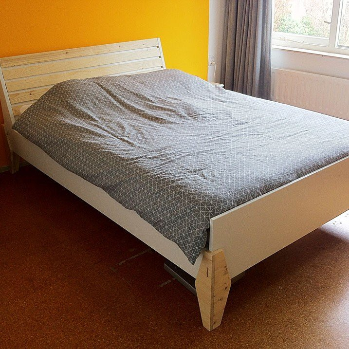 Photo DIY double bed 'Hayeda' by