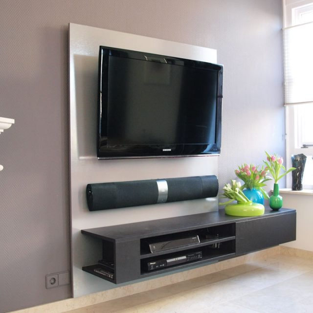 DIY Hanging TV Cabinet U0027Jordiu0027 ...