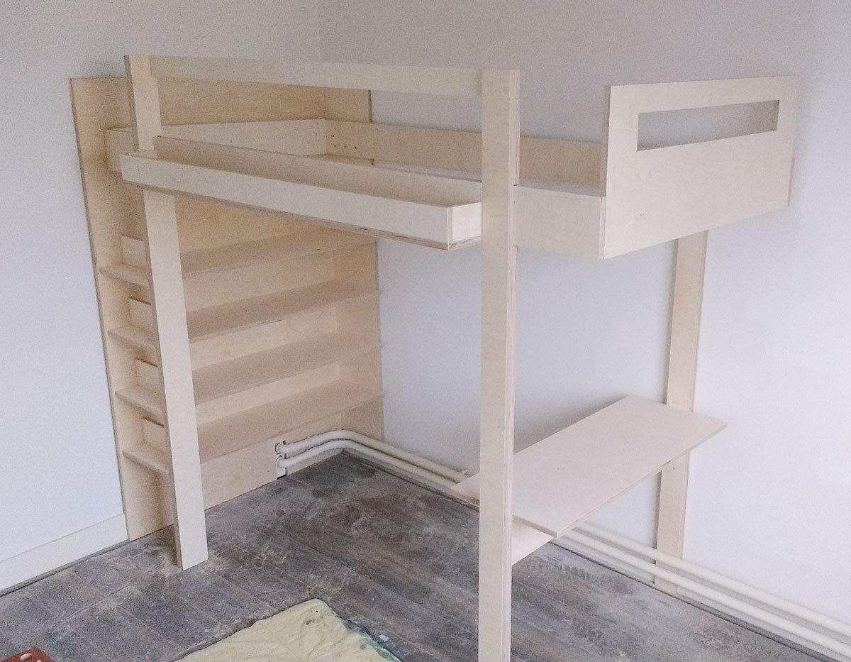 Photo DIY loft bed 'Ana' by