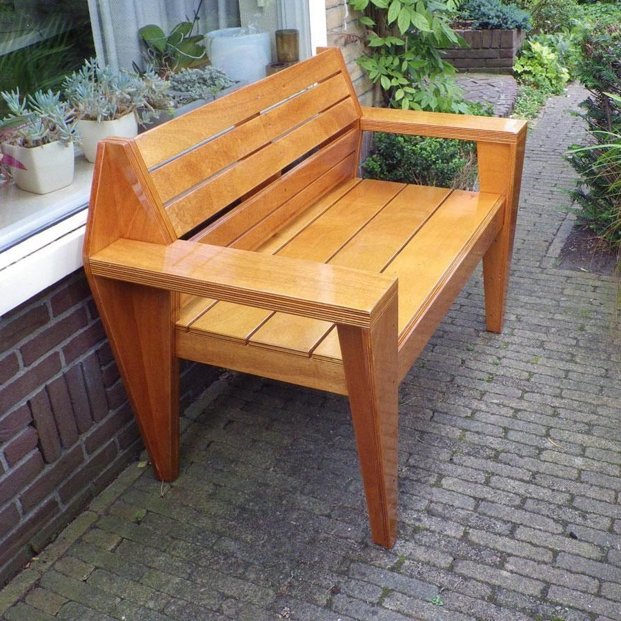 Photo DIY garden bench 'Turbon' by