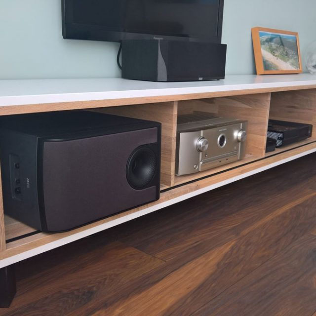 Tv Stand Designs In Plywood : Diy furniture plan floating tv cabinet arturo for plywood