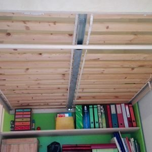 DIY Double loft bed AnaXL by Sitske-d-G, Design Neo-Eko