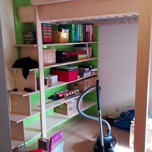 DIY Double loft bed AnaXL by Sitske-d-G, Design Neo-Eko-11