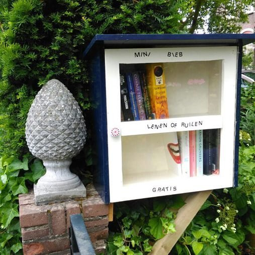DIY freee little library-Libros-by-Maartje-B