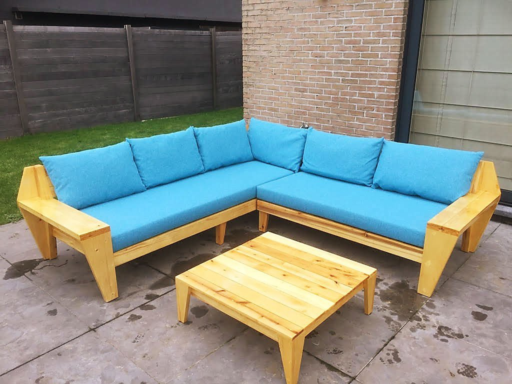 DIY Lounge sofa YelmoXL by Rik, Design Neo-Eko