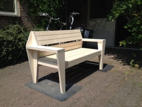 DIY gardenbench Turbon by John, Design Neo-Eko