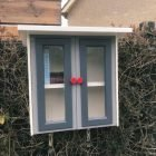 DIY free little library-Libros-by Andre en Ada
