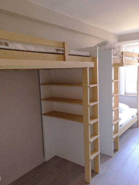 DIY-bunk-Mila, Design by Neo-Eko, made by Hermen
