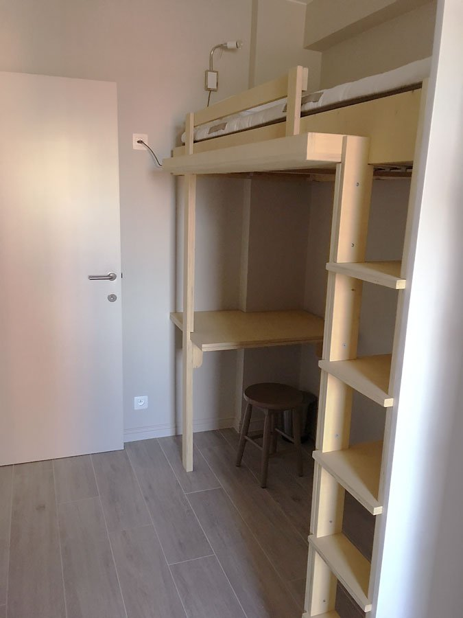DIY-bunk-Mila, Design by Neo-Eko, made by Hermen