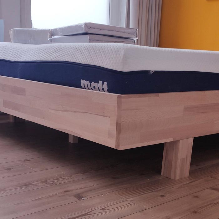 DIY Build Yourself bed -Azobe- by Dick