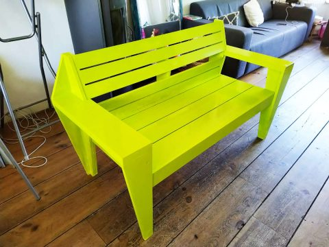 DIY-garden bench -Turbon- by