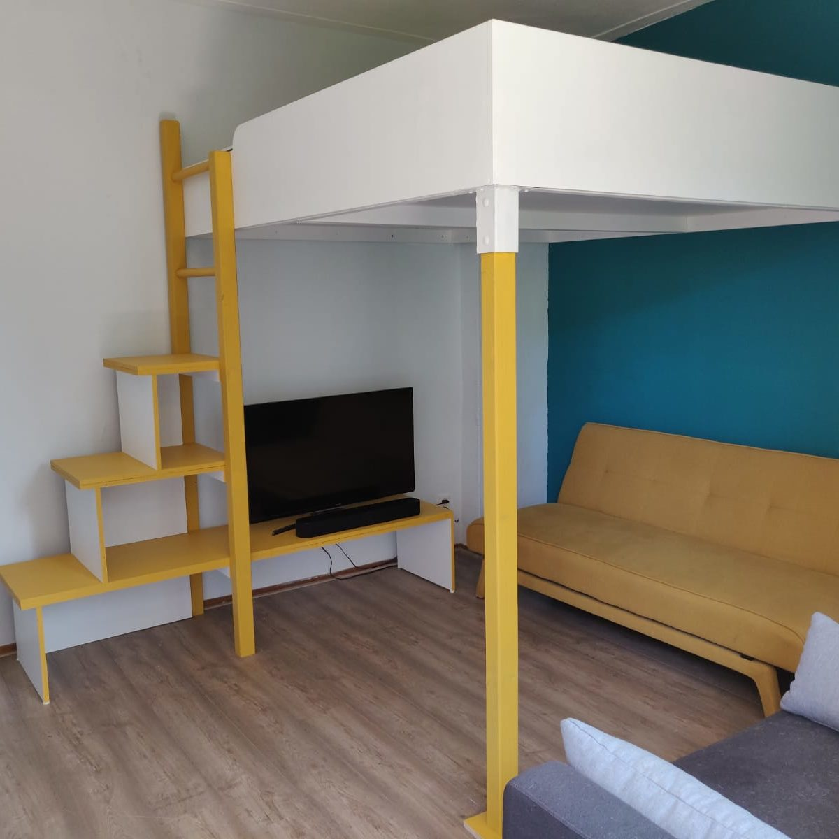 DIY-Loft bed -Carlota- by Marvin