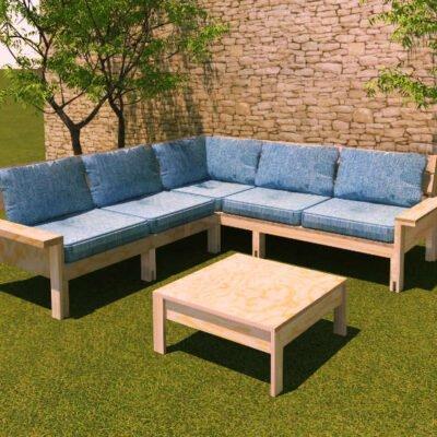 DIY Build it yourself lounge TejedaXL