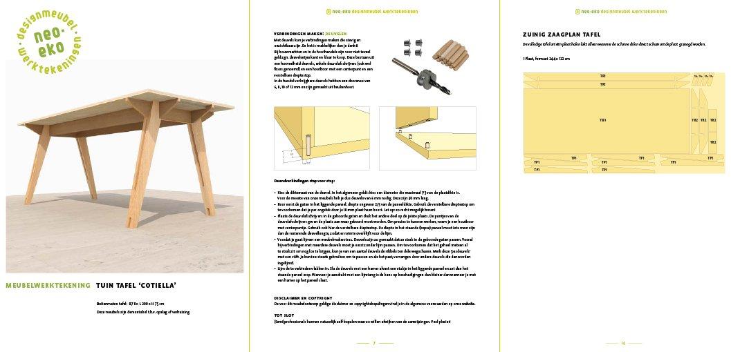 Voorbeeld van 3 pagina's van de handleiding
